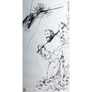 吴山明    §《葫芦仙》