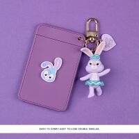 达菲熊公交卡保护套饭卡卡套可爱少女学生卡通交通钥匙扣女门卡包