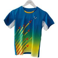 儿童羽毛球服青少年羽毛球服 短袖T恤 S