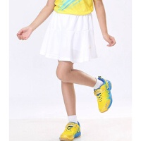 儿童羽毛球服女童裙裤下装运动服 快干面料百褶裙