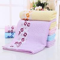 竹纤维竹炭吸水加大儿童宝宝大毛巾浴巾 140x70cm
