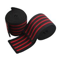 深蹲护膝膝盖弹力绷带绑带缠绕带举重运动护具绑腿健身护膝男深蹲 一对长度2M