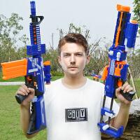 儿童电动玩具男孩新年礼物玩具枪连发软弹枪可发射狙击枪