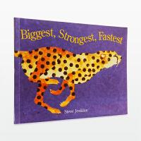 """【11.11狂欢钜惠】美国进口 凯迪克大奖得主Steve Jenkins作品 Biggest,Strongest,Fastest 动物之""""最""""【平装】"""