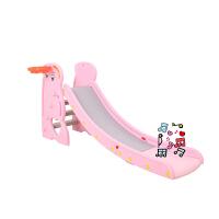 新款中型滑梯儿童滑梯室内多功能家用单人滑滑梯组合玩具音乐