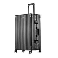 行李箱女20寸拉杆箱旅行铝框韩版男24密码箱26复古学生
