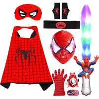 套�b蜘蛛�b衣服�和�男孩�f圣��和�服�b披�L手套�l射器面具道具