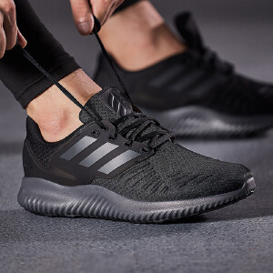 adidas阿迪达斯男子跑步鞋2018新款小椰子缓震休闲运动鞋DA9768