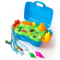 恐龙玩具模型工具套装 儿童彩泥套装橡皮泥手工泥
