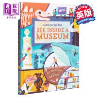 【中商原版】See Inside A Museum 看里面:博物馆 Usborne出版 英文原版 进口图书 全彩纸板书