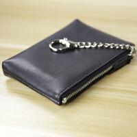 多功能头层牛皮零钱包男硬币包卡包钥匙扣女驾驶证收纳包小钱包
