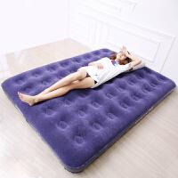充气床垫双人家用加大单人折叠床垫加厚户外便携床午睡气垫床空气SN8673 床+ 电动充气泵