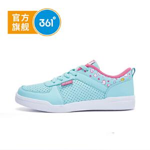 361°361度童鞋女童运动鞋中大童滑板鞋儿童运动鞋K89130071