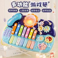 宝宝音乐手拍鼓儿童拍拍鼓可充电早教8益智1岁0-6个月一婴儿玩具3