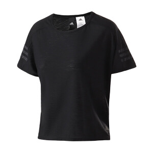 adidas阿迪达斯女装短袖T恤2018运动服BK2682