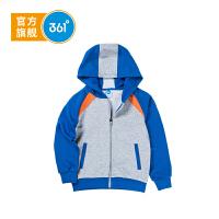 【大牌日�B券�A估�r:51.6】361度童�b男童外套中大童�B帽��外套春季�和�外套K51813409