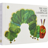 【首页抢券300-100】The Very Hungry Caterpillar 好饿的毛毛虫纸板书 Eric Carl