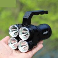 四头手提灯4颗XM-L2 强光手电筒安全灯矿灯强光野营户外照明钓鱼