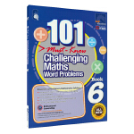 SAP 101 Challenging Maths Word Problems Book 6 新加坡数学101个数学必