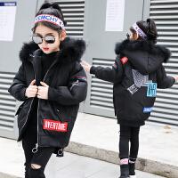 儿童棉衣2018冬季新款中大童韩版面包服厚款外套洋气棉袄女孩