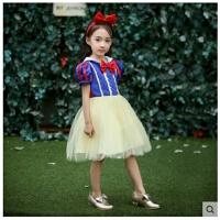 公主裙子女童cosplay万圣节儿童服装舞会表演服演出服
