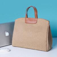 时尚好看的单肩包手提 苹果笔记本Macbook电脑包air13.3寸14pro16