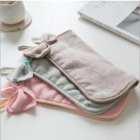 居家加厚珊瑚绒挂式洗脸擦手巾抹布洗碗巾厨房吸水毛巾