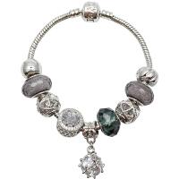 韩国转运珠琉璃珠水晶石榴石森系闺蜜学生手链手串女蛇骨链