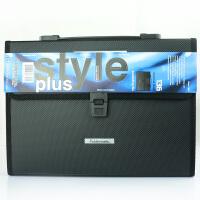 Foldermate/富美高 136 13层风琴包 黑色 专业型办公系列 A4文件夹12格商务多层文件包办公学生文具试