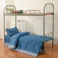 宿舍三件套床上用品被单1.0m床单被套1.5米学生单人1.2
