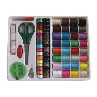家用缝纫机配件针线盒套装线芯线团小剪刀拆线器穿线器皮尺缝纫线