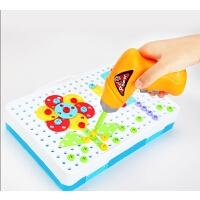 儿童拧螺丝钉组装玩具电钻拆装螺母组合拆卸男孩动手益智工具拼装