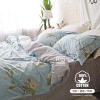 家纺全棉床上用品四件套纯棉韩式田园1.8m床单被套件1.5m床笠床品 注:1.5和1.8尺寸一样。