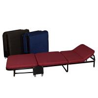 简易折叠床单人午睡轻便办公室板式户外便携午休沙发医院陪护
