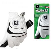 高尔夫手套右 男 小羊皮 左右手双手单只防滑耐磨 golf练习手套透气HW