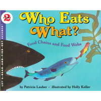 Who Eats What? (Let's Read and Find Out) 自然科学启蒙2:大鱼吃小鱼ISBN9