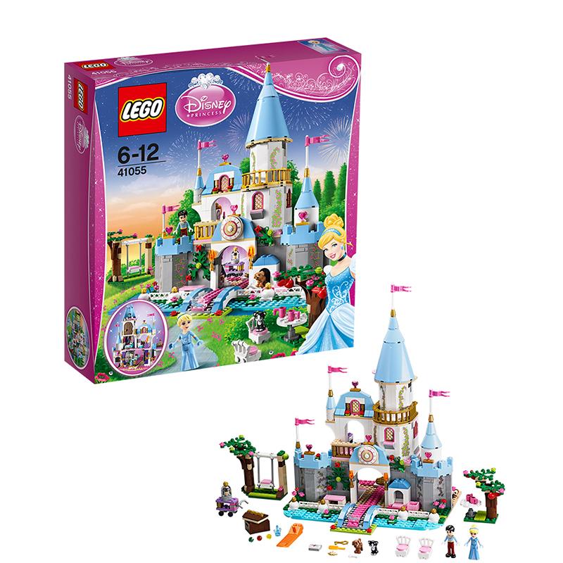 [当当自营]LEGO 乐高 Disney迪士尼系列 灰姑娘的浪漫城堡 积木拼插儿童益智玩具 41055 【当当自营】适合6-12岁,646pcs 乐高积木 拼装玩具