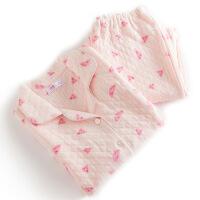 梦蜜 秋冬月子服产妇哺乳睡衣 孕妇喂奶家居服产后哺乳衣套装