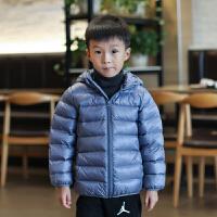 儿童羽绒服男童女童婴儿宝宝轻薄款羽绒外套童装冬