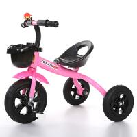 新款三轮车儿童脚踏车1-3岁宝宝自行车男孩女孩玩具车