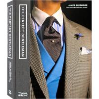 【英文】The Perfect Gentleman伦敦男装品牌指南 男士服饰品牌形象与设计参考书籍