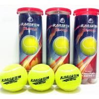 网球3只装易拉罐密封训练橡胶网球 体育用品