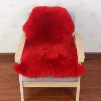 冬季羊毛地毯羊毛沙发垫整张羊皮皮毛一体卧室床边毯白色毛毛垫