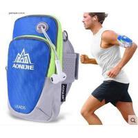 多功能零钱包斜挎小包臂带苹果5s6s健身手腕包跑步手机臂包运动手臂包男女臂套