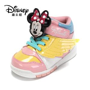 鞋柜/迪士尼冬季米妮米奇翅膀中性运动鞋1