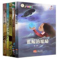 蓝鲸的眼睛冰波童话系列4册王一梅小学生课外书3-5-6年级必读名家儿童文学精选系列适合小学五六年级阅读的儿童书籍