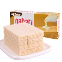 印度尼西亚进口丽巧克纳宝帝【香草牛奶味】威化饼干145g