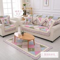 布艺沙发垫子四季通用加厚坐垫靠背巾套罩