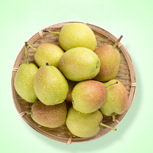 【新疆特产】新疆特产库尔勒香梨 一级新鲜梨子孕妇水果5斤整箱包邮