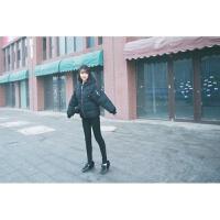 韩观秋冬季外套女装短款棉衣潮韩版原宿bf学院风学生袄子加厚羽绒